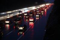 traffic jam on the highway